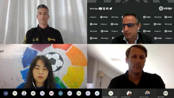라리가, 루이스 가르시아-맨디에타와 함께 아시아 '언택트' 기자회견