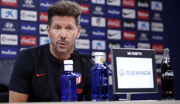 """디에고 시메오네는 인터뷰를 통해 """"팀 전체가 새로 시작해야할 때""""라고 언급했다 [사진=AT마드리드 공식 홈페이지(캡처)]"""