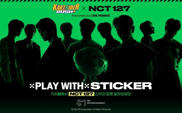 '카트라이더 러쉬플러스', NCT 127 노래 들으며 레이싱 즐긴다