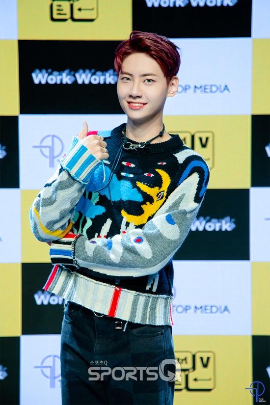[포토Q] 워커홀릭 이진혁, '신곡 'Wokr Work'로 컴백'